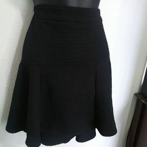 { Topshop } fit and flare mini skirt